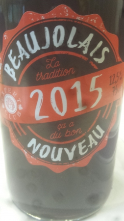 Beaujolais Nouveau 2015