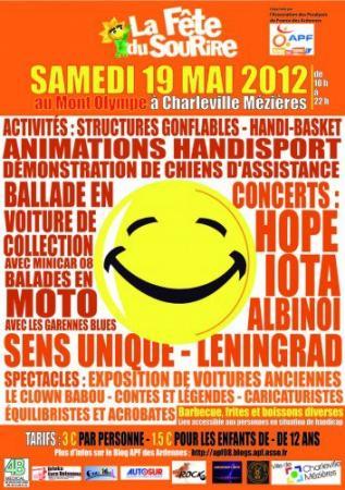 Samedi 19 mai 2012: Fête du Sourire